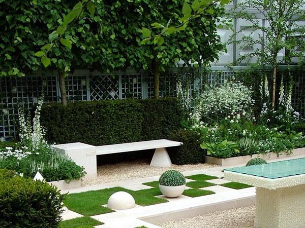 Strakke tuinen voorbeelden