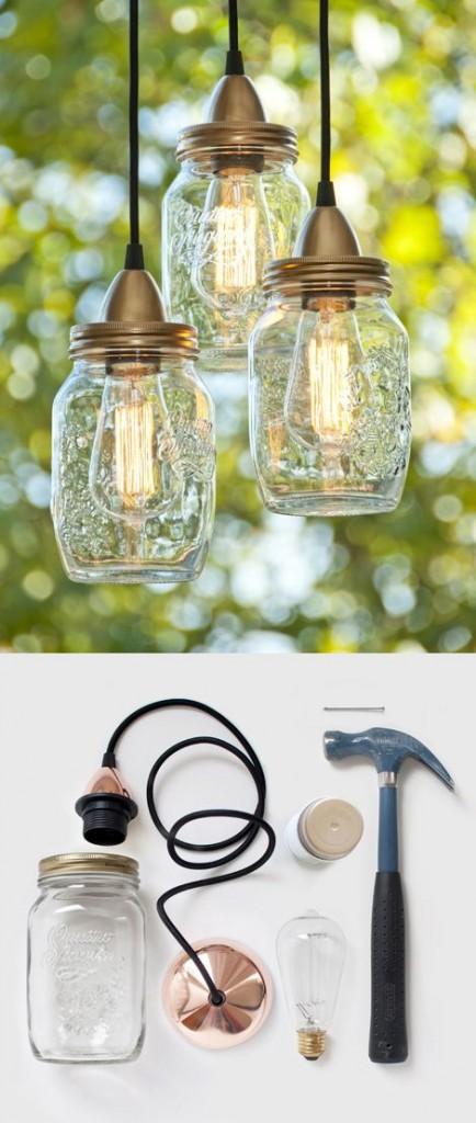 Zelf lampen maken