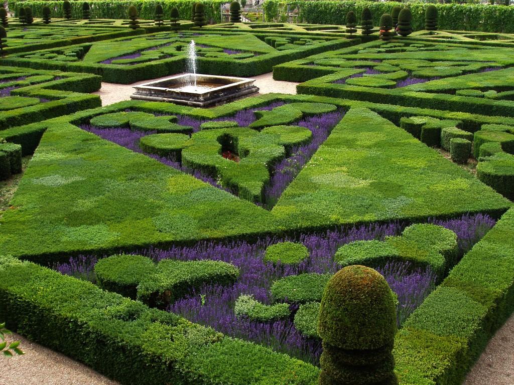 Franse tuin voorbeelden
