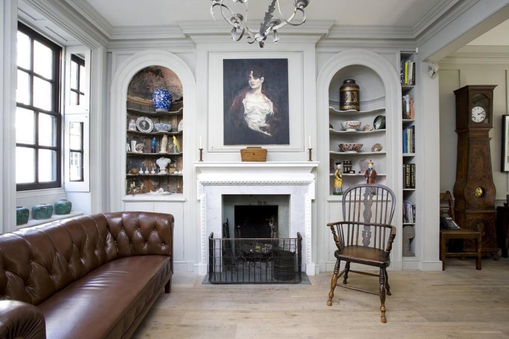 klassiek engels interieur