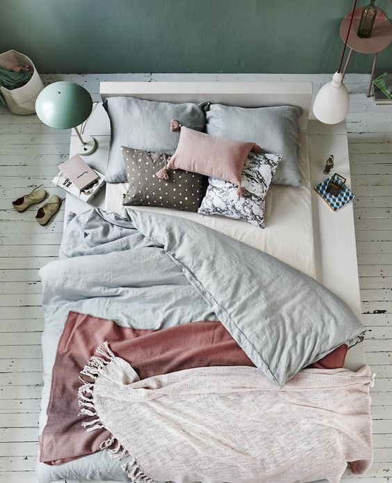 Rustgevende kleuren slaapkamer — InteriorInsider.nl