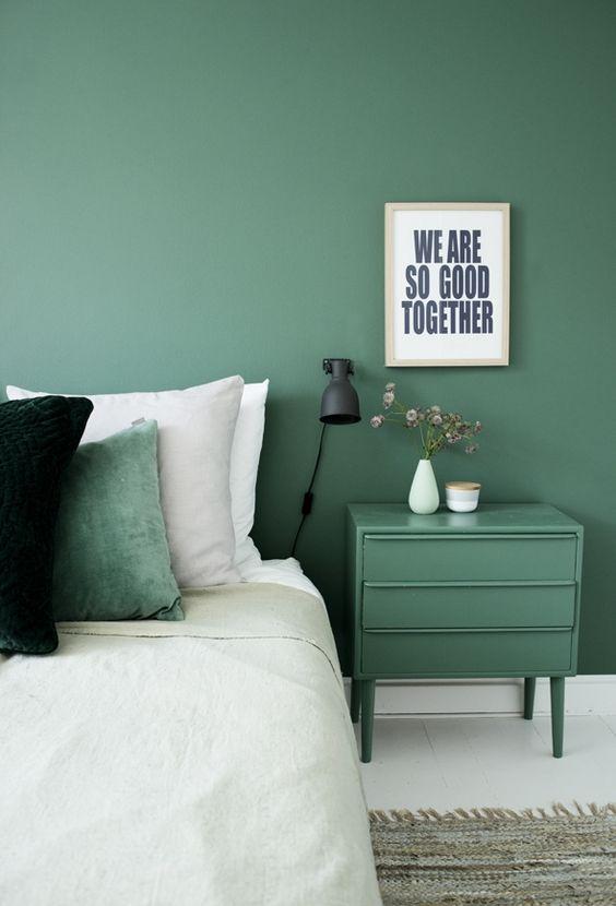 muurverf groen