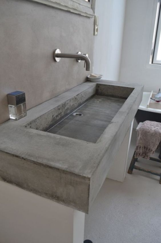 Betonnen wasbak maken  Interieur Insider # Wasbak Maken_074958