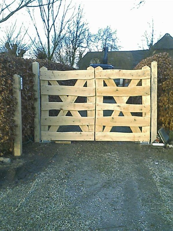 Zelf poort maken