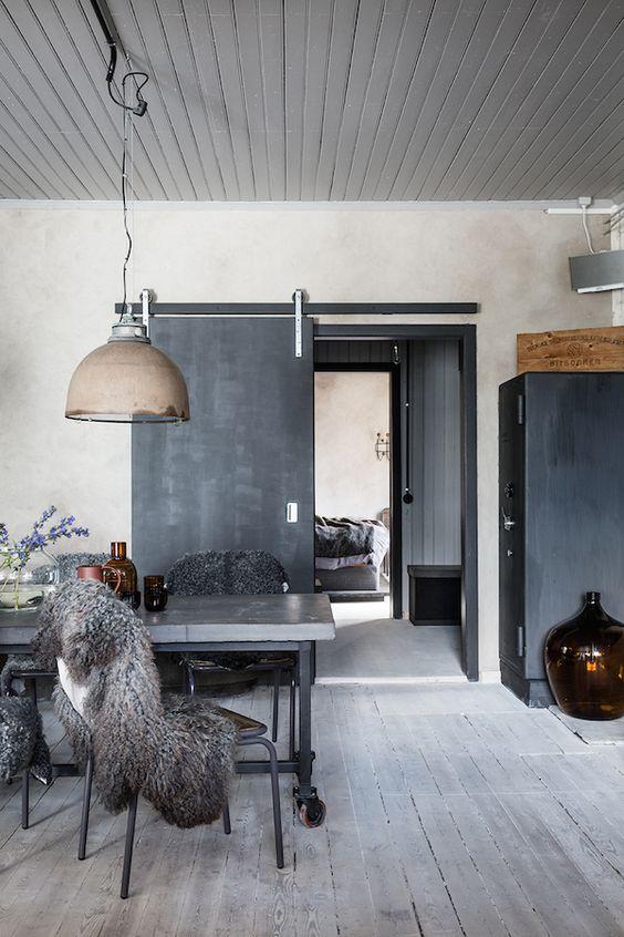 Stoere inrichting woonkamer - Interieur Insider