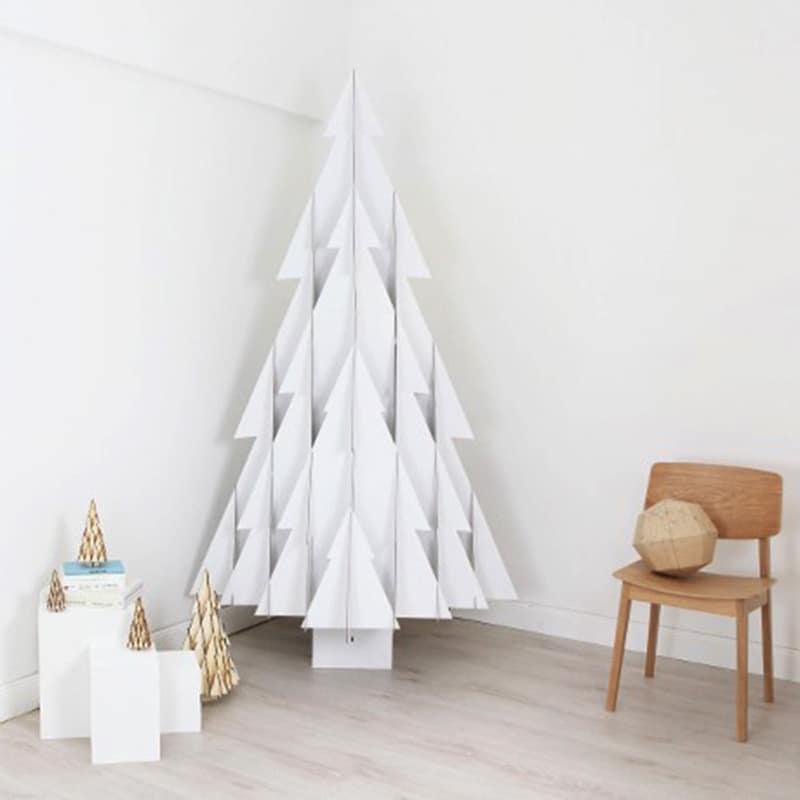 Kerstboom maken van papier 3