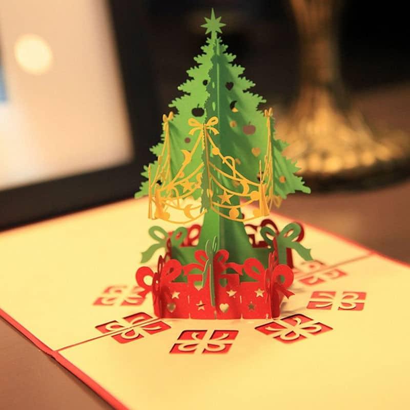 Kerstboom maken van papier 7