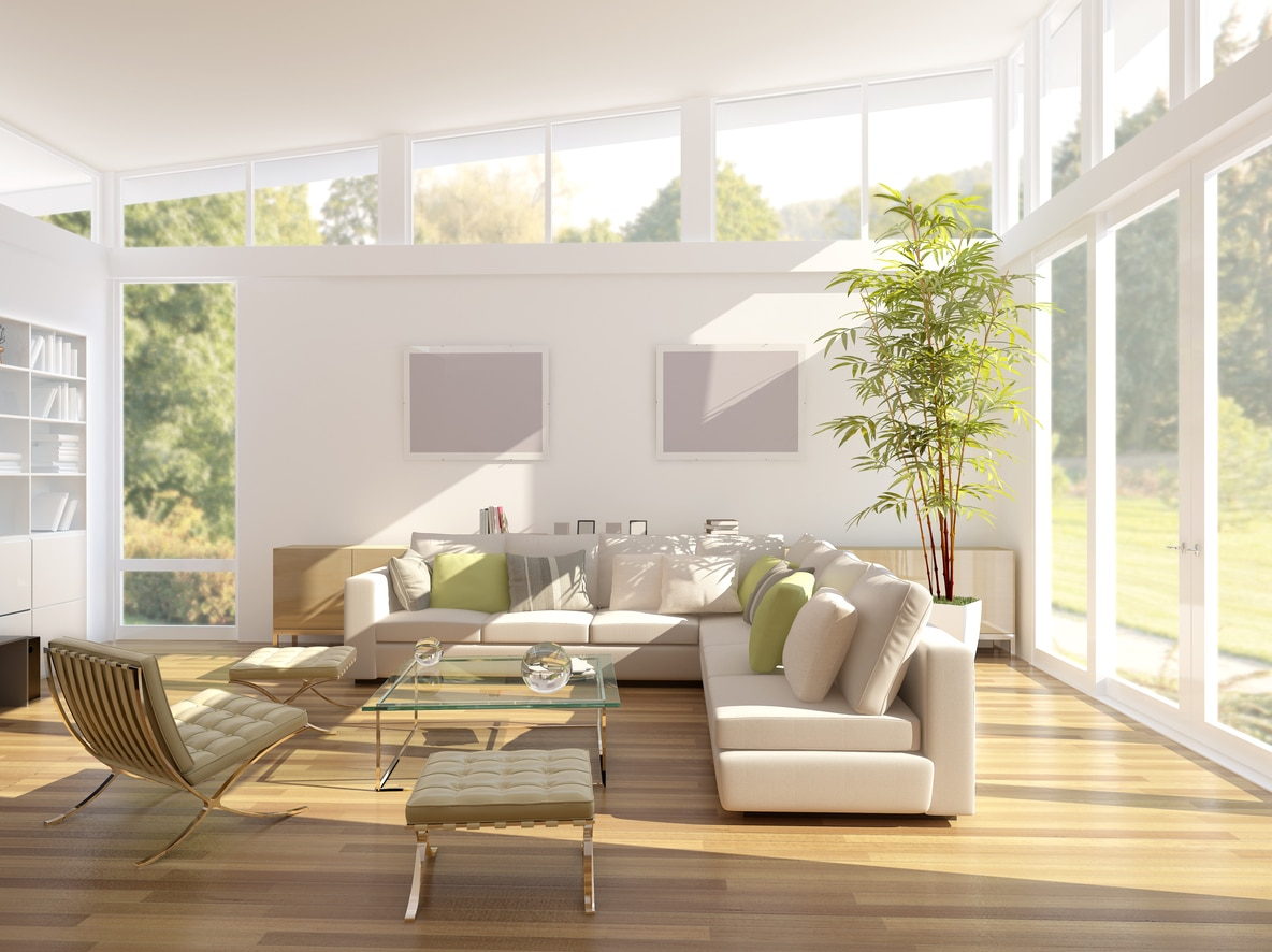 bamboe in huis interiorinsider