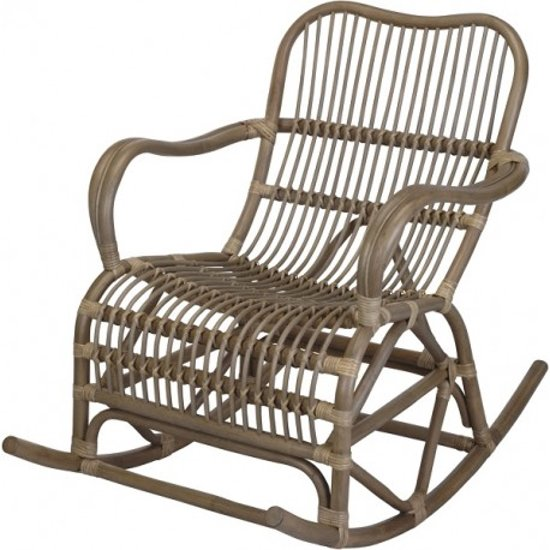 Bamboe schommelstoel