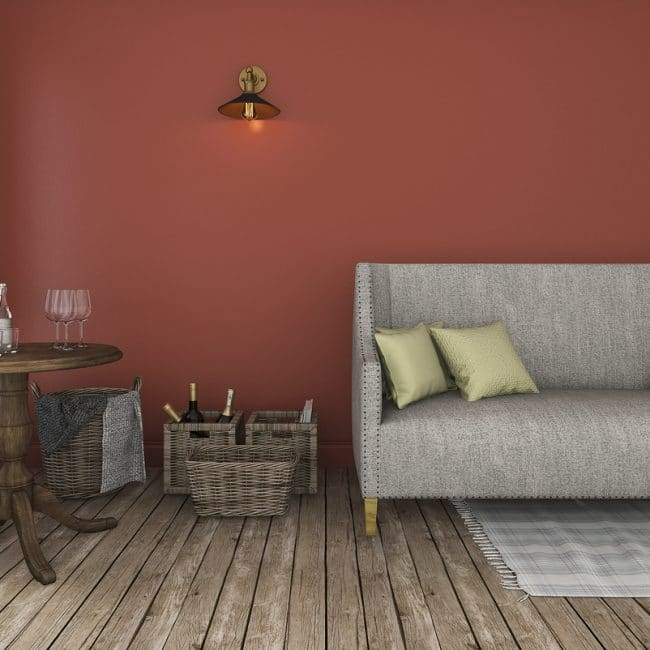 Warme kleuren woonkamer — InteriorInsider.nl