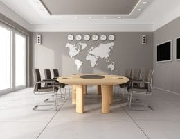 Houten wereldkaart maken DIY
