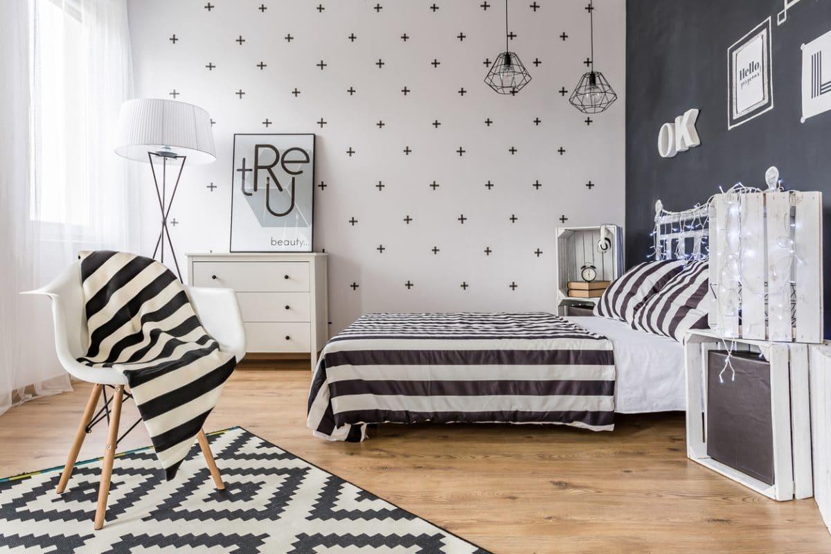Witte Slaapkamer Inrichten : Zwart wit inrichting u2014 interiorinsider.nl