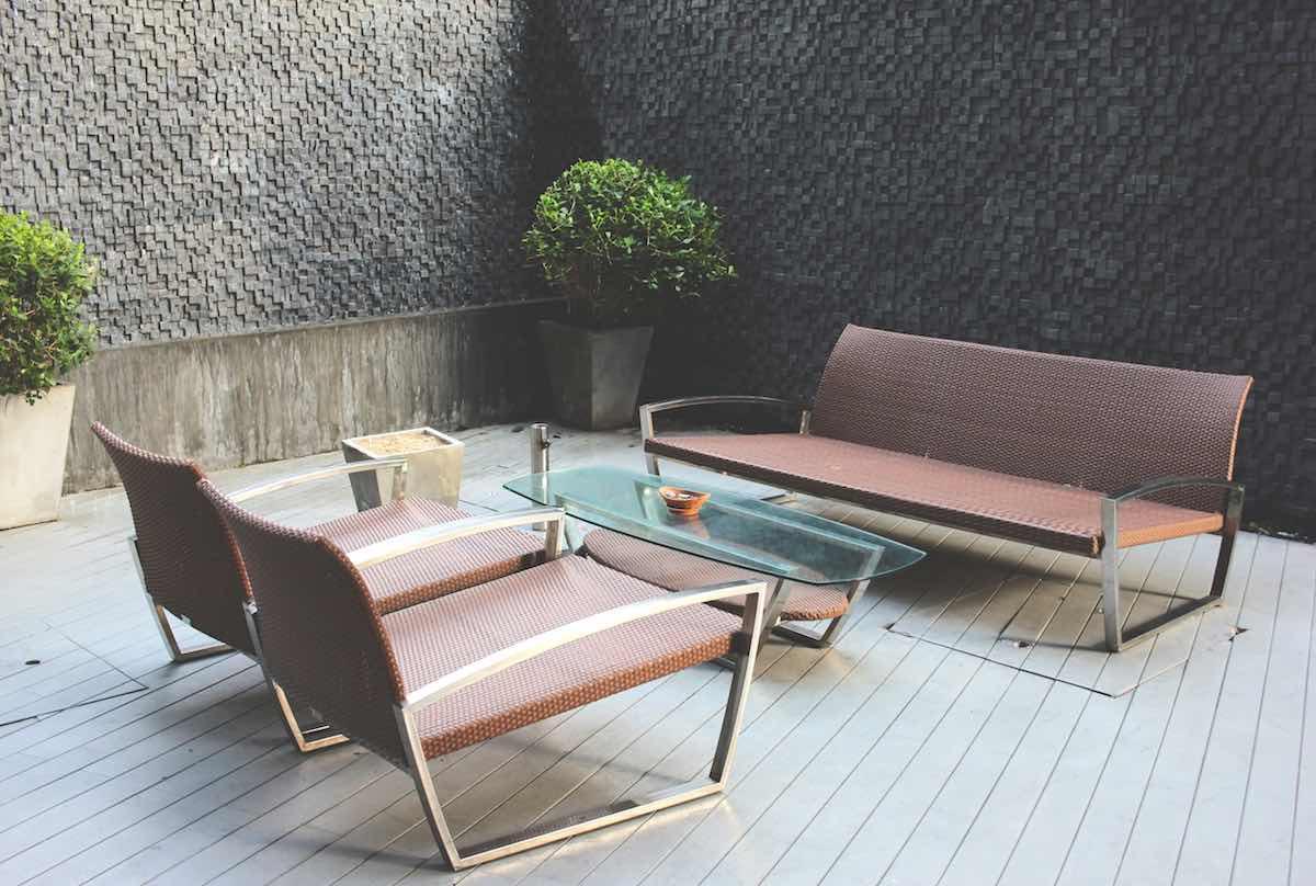 aanschaffen loungebank tuin inspiratie