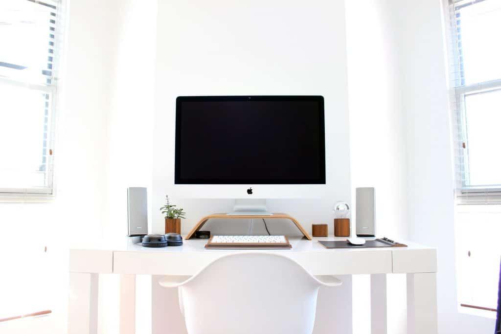 witte bureaustoel ergonomisch