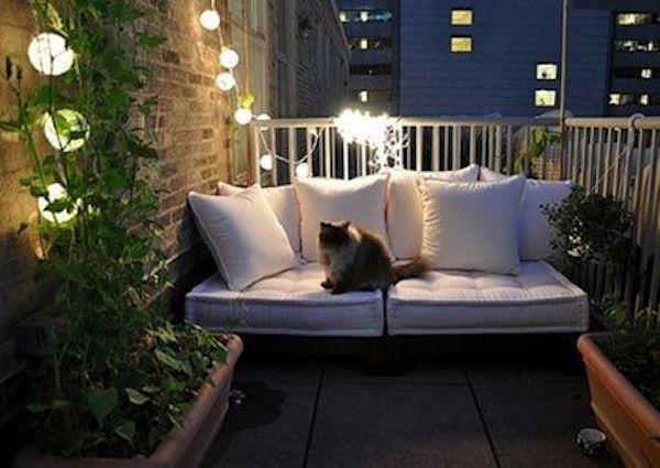 klein balkon verlichting