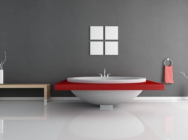 Betonstuc badkamer of betonstuc keuken: Betonlook met beton ciré
