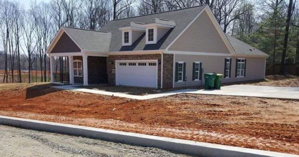 wat is er fout nieuwbouw huis viral