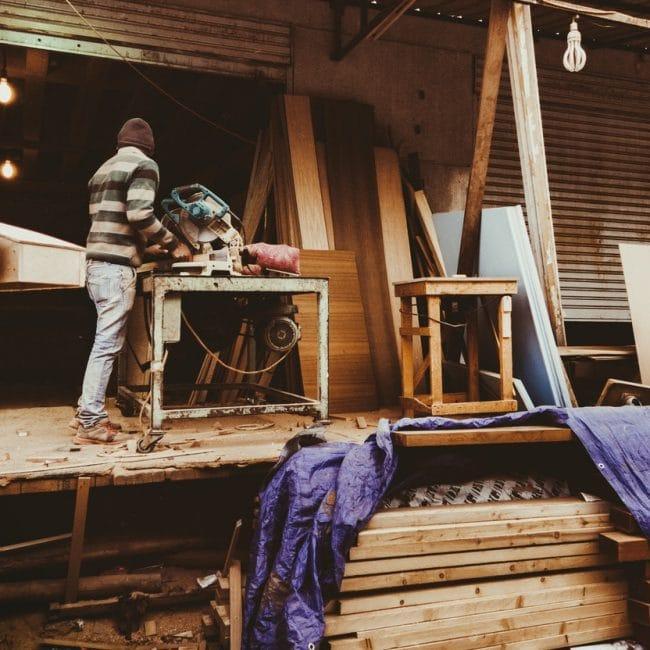 Zelf houten stoel maken