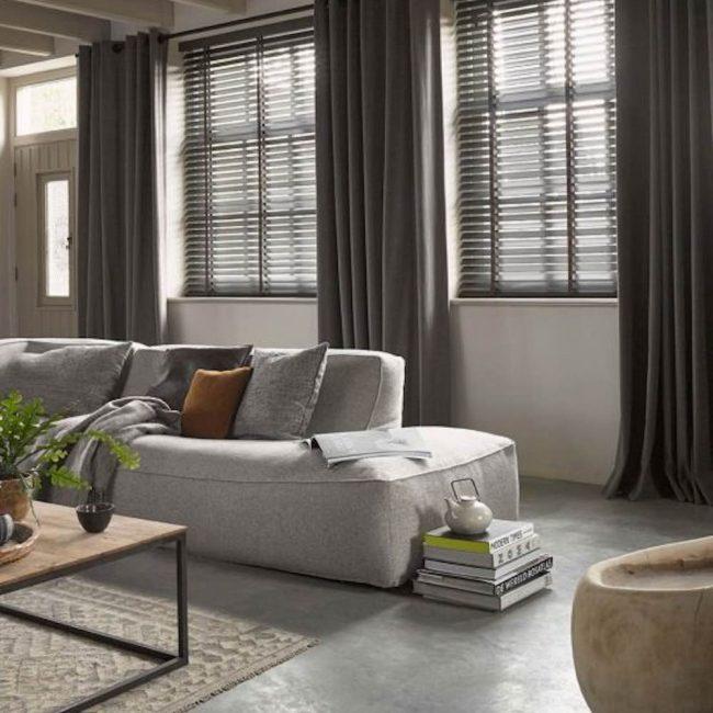 Houten jaloezieën: dé perfecte raamdecoratie voor de woontrends van 2017