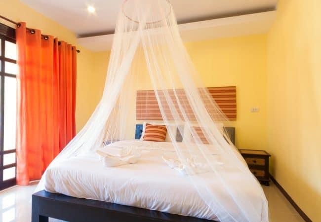 Klamboe slaapkamer
