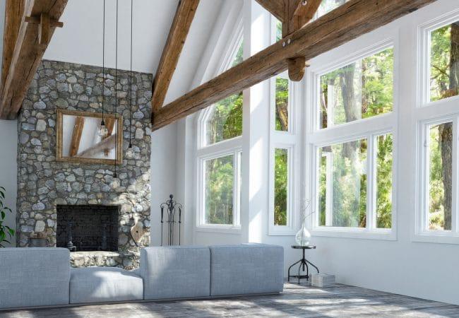Landelijke stijl interieur