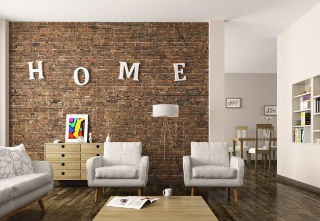 Taupe muur woonkamer een natuurlijke kleur en mooi te combineren - Muur taupe kleur ...