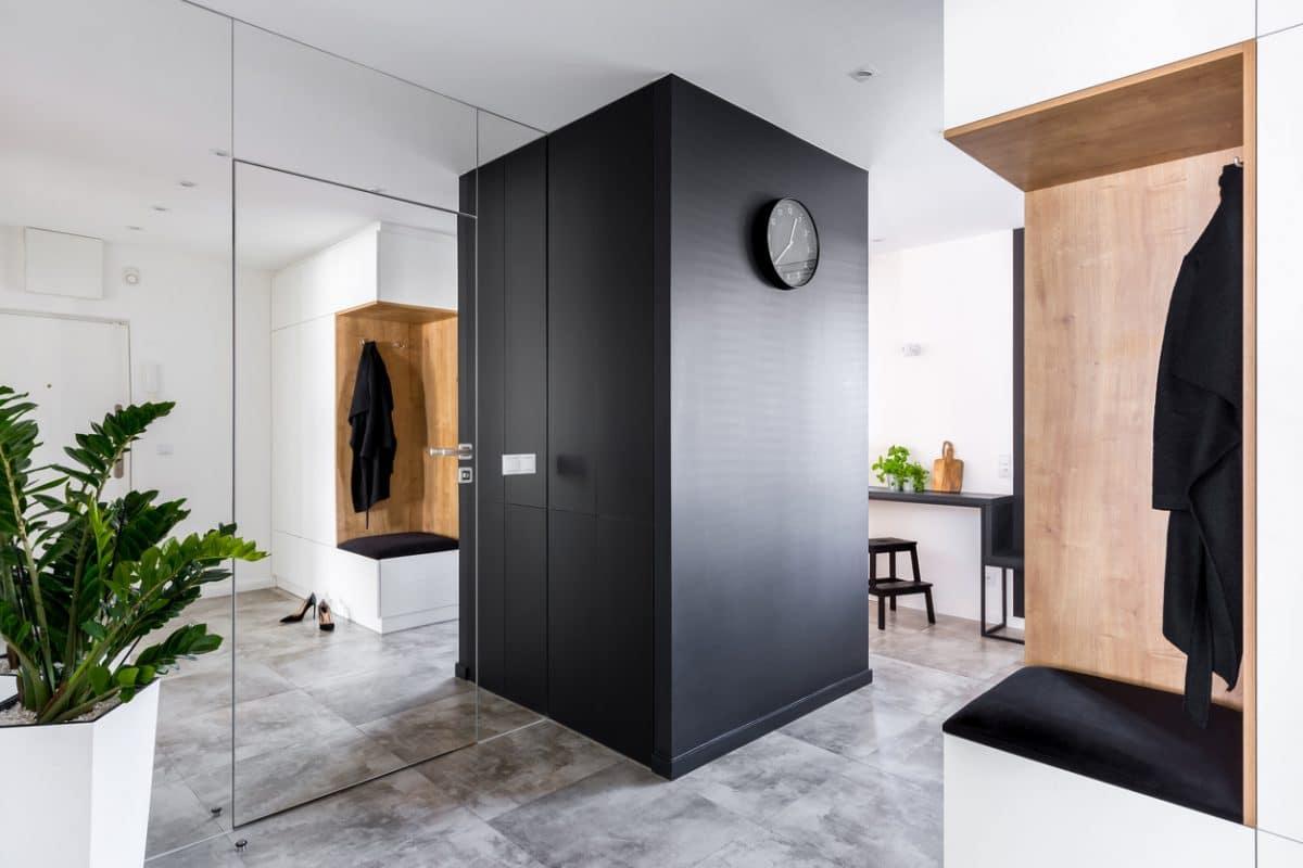 Lockers woonkamer