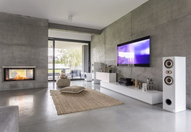 Luxe interieur woonkamer