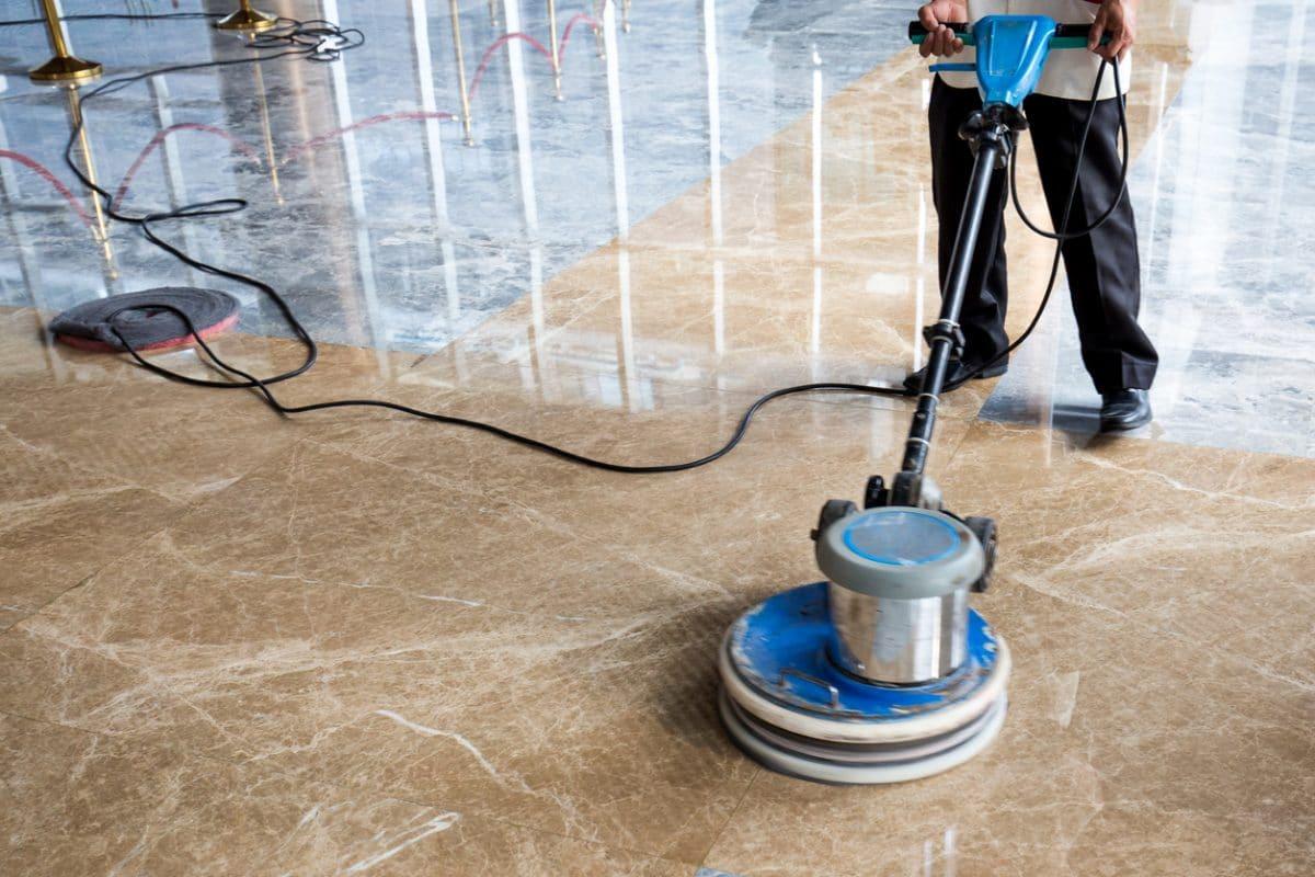 marmeren vloer polijsten reinigen opknappen
