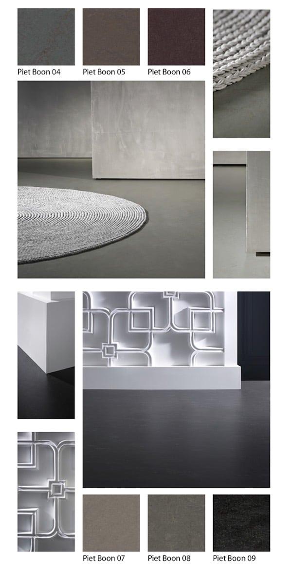 piet boon marmoleum linoleum betonlook