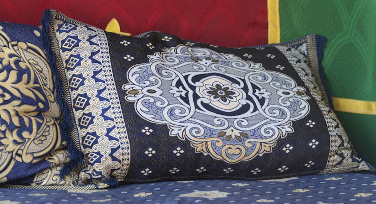 marokkaanse stoffen sedari bank