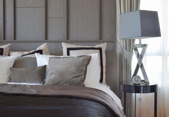 Moderne slaapkamer