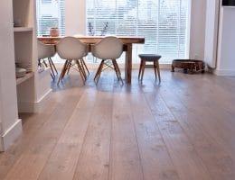 Vloerverwarming onder uw houten vloer