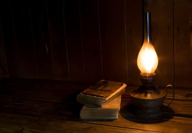 Olie lampen