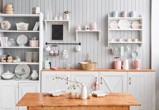 Open keukenkastjes