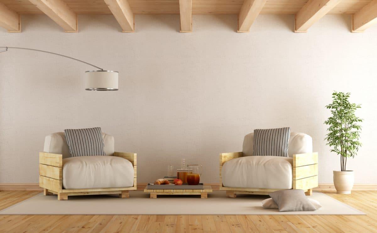 Pallet houten meubels - Soluzioni economiche per arredare casa ...