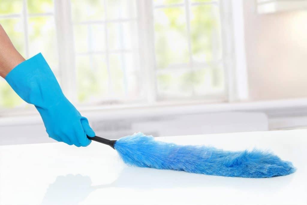 plumeau-schoonmaken