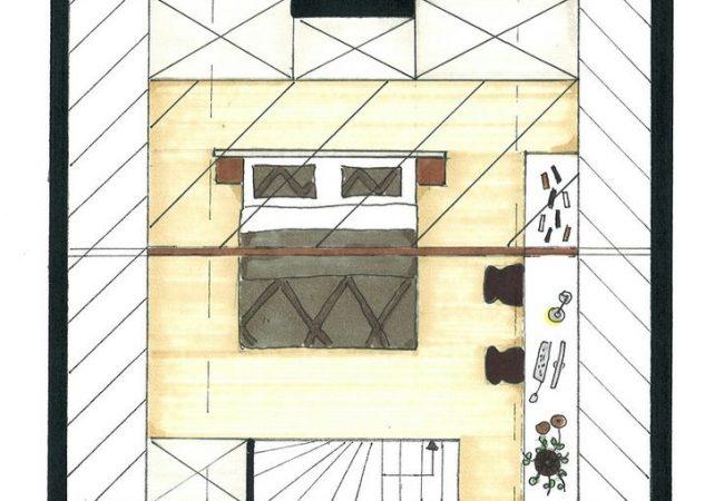 Plattegrond slaapkamer maken