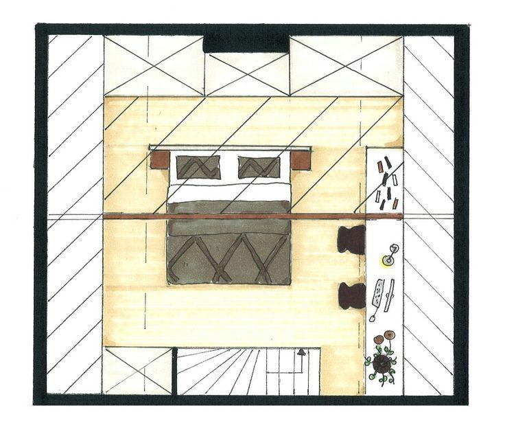 plattegrond slaapkamer maken - interieur insider, Deco ideeën