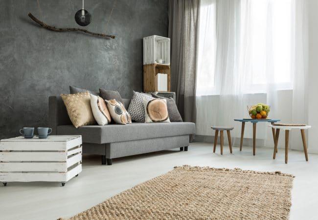 Interieur woonkamer kleuren