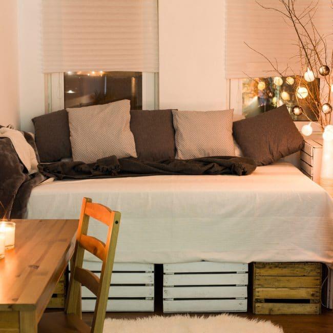 Slaapkamer landelijke stijl — InteriorInsider.nl