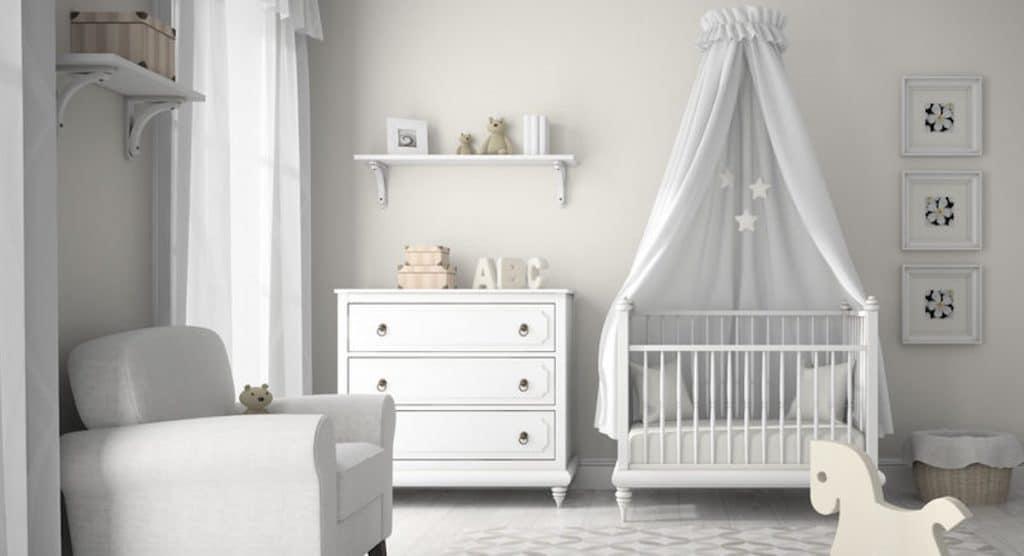 Babykamer inrichten waar moet je op letten tips en for Babykamer inrichten