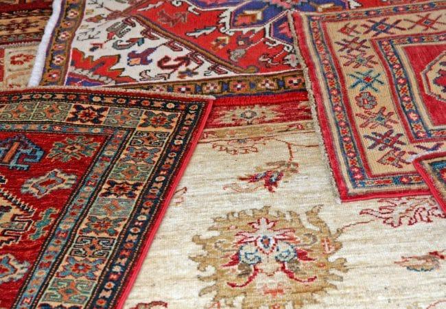 Turkse tapijten en patchwork vloerkleden
