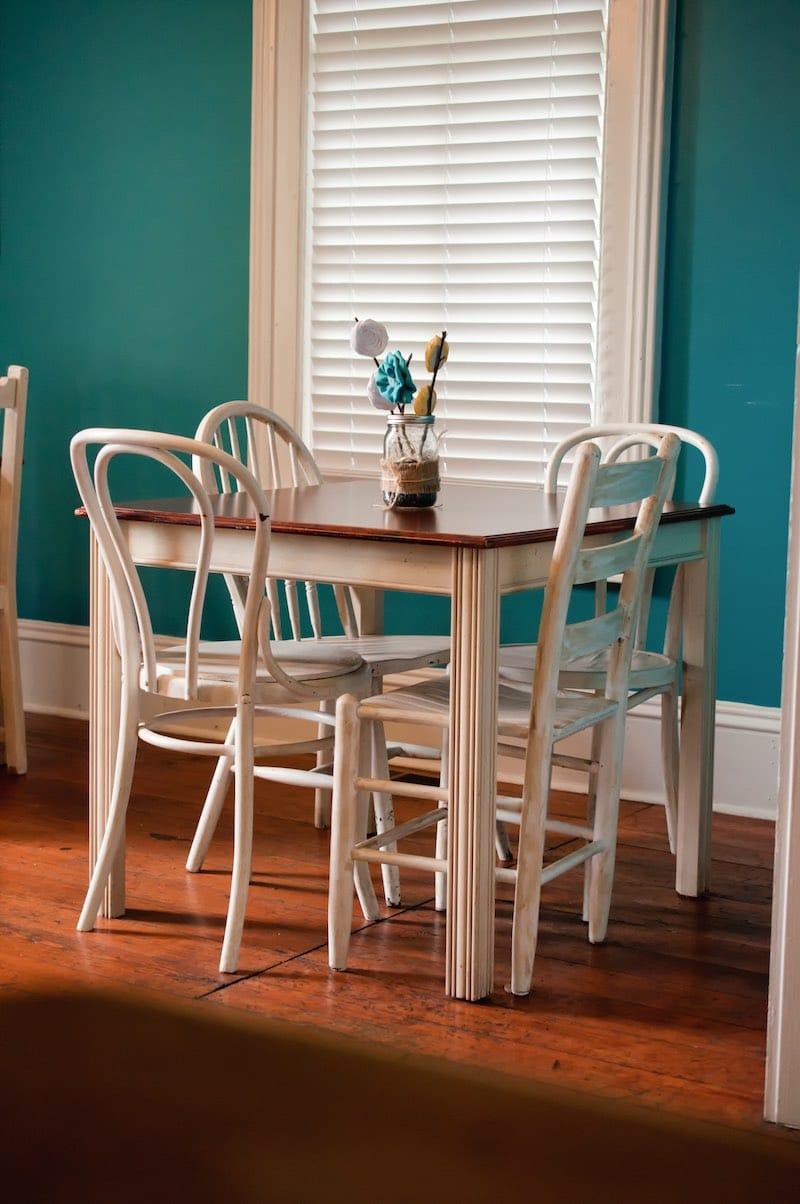 tweedehands tafel interieur | Interior Insider