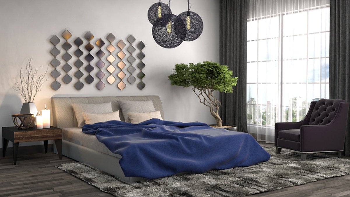 slaapkamer modern